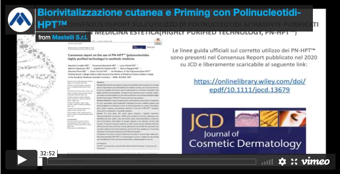 Biorivitalizzazione cutanea priming e polinucleotidi